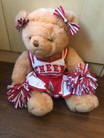 Build a bear Cheer teddy