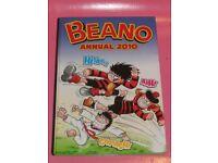 THE BEANO BOOK ANNUAL 2010 + BEANO COMIC October 2014