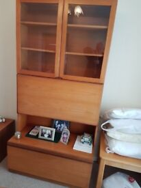 G Plan cabinet. Very good condition. Pick u only
