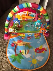 Baby Gym with music and lights