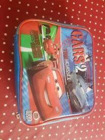 Children's cars lunch bag