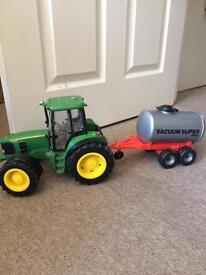 Toy tractor with sounds