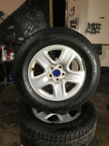 TOYOTA VENZA WINTER SNOW TIRES & RIMS 235 65R 17 2 SETS TO CHOOSE FROM MICHELIN XICE BFGOORICH EXCELLNT SHAPE 5X114.3
