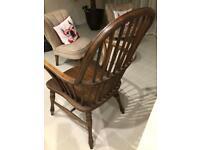 Vintage Windsor Elm Wooden Chair