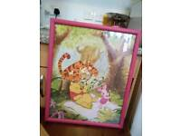 TWO PICTURES...WHINNIE THE POOH AND TIGER PICTURES... £3 EACH