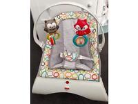 Fisher-Price Moonlit Meadow Comfort Baby Bouncer