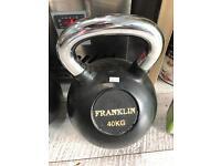 40kg kettlebell - new
