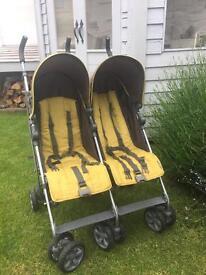 Mamas and papas twin stroller KATO