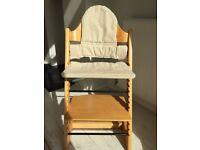 Tripp Trapp High Chair, oak