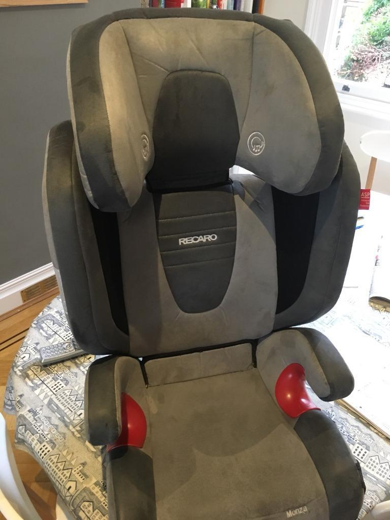 Recaro Monza 6 12 Child Car Seat With ISOFIX And Speakers