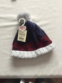 Boys 12-18month willy hat