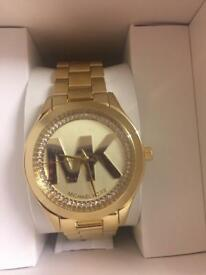 New Michael Kors watch Authentic with warranty mk3477