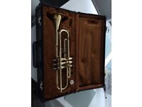 B&H 400 trumpet w/mouthpiece & case