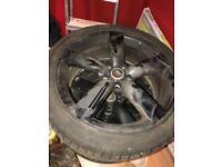 Audi Rota Alloys with tyres