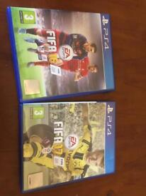 Fifa 17 and 16 immaculate condition