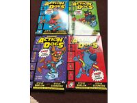FOR SALE: 4 Action Dogs Books