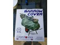 Fishing barrow cover