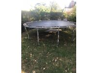 Free Well used large trampoline for sale