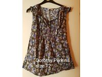 Joe Browns and Dorothy perkins 10/12