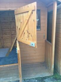 Garden shed/play house - Sold subject to collect on Friday