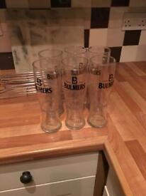 Bulmers Branded Pint Glasses