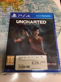 PS4 Game - Uncharted The Lost Legacy (Latest in Series)