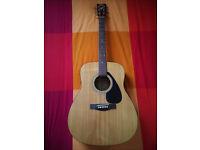 Acoustic Guitar Yamaha F-310 with hard case