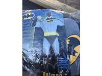 Fancy dress batman outfit men's large
