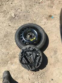 Vauxhall Astra 2007 spare wheel with kit
