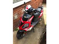 Longjia Raptor 125cc Scooter/Moped (spares or repairs)
