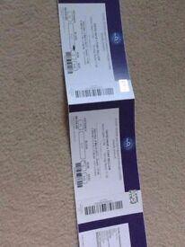 Haye v Bellew tickets x2