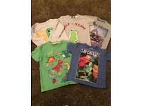 5 boys t Shirts Age 3/4