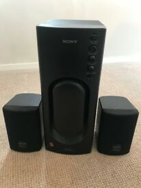 Sony SRSD2 Active Speaker System - Micro Speakers and Subwoofer