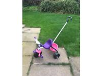 Toddler trike and scooter