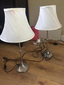 X2 WHITE LAMPS