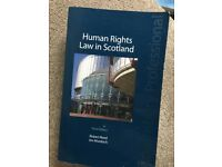 Human rights law in Scotland book