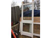 External heavy duty doors