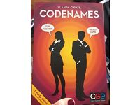 2 games. Codenames and Ultimate Werewolf