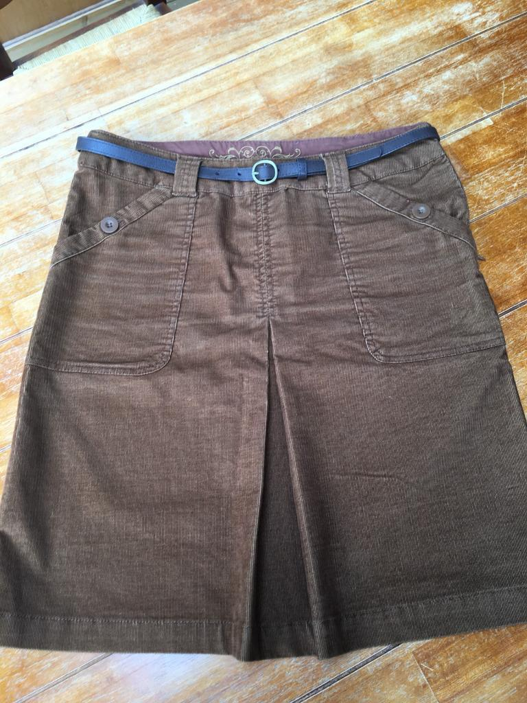 73390a79b3 NEXT Women's Brown Cord Skirt - size 12 | in Llanishen, Cardiff ...