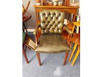 Chesterfield Office/Library Chair