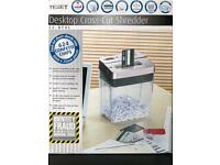 Texet Desktop Cross-Cut Shredder