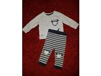 Bag of baby boy clothes 6-9 months