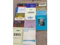 Clarinet books and sheet music