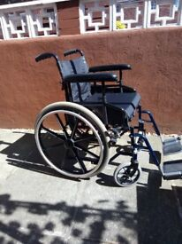folding wheelchair very good condition