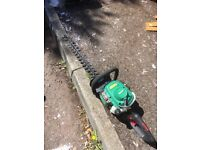 Qualcast petrol hedge trimmer