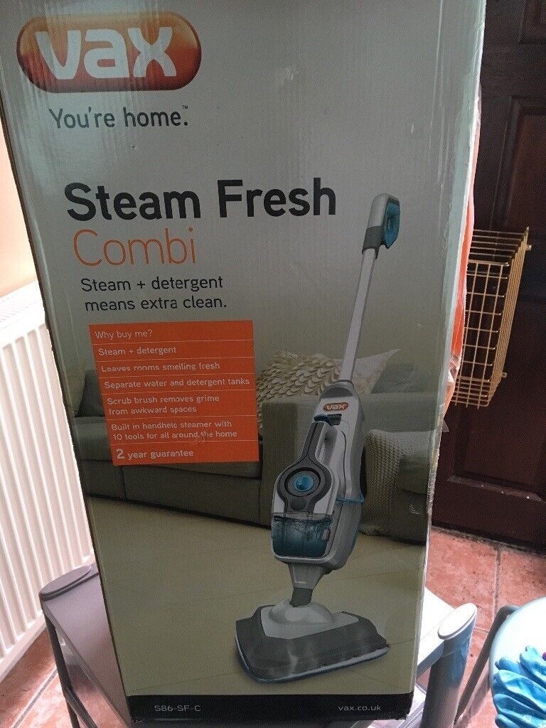 Steam combi cleaner , Vax  Never used, in original box with instruction  booklet  Sale due to move  | in Alness, Highland | Gumtree