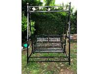 Wrought Iron Swing Bed/Seat