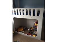 Hand made wooden bunk bed