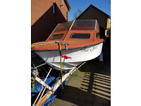 18ft Shetland 2 Cruiser for Spares or Repairs