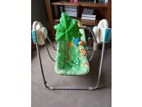 Fisher price Rainforest Swing Chair/Seat. Great condition.